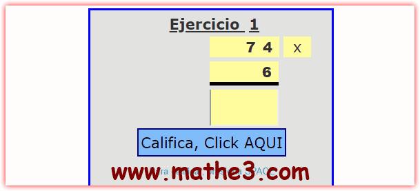 generador de multiplicaciones por una cifra