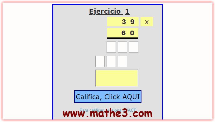 ejercicios de problemas de multiplicacion por dos cifras para imprimir