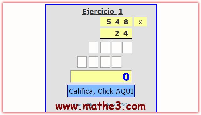 generador de multiplicaciones de dos cifras